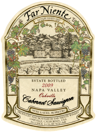 Far Niente Cabernet Label
