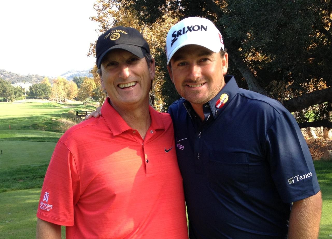 Graeme McDowell golf outing