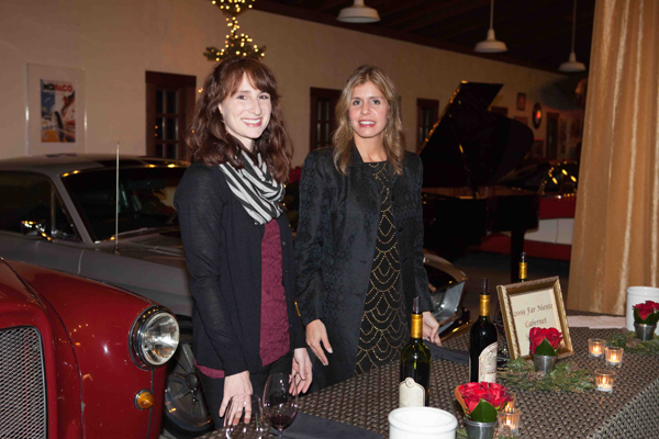 Far Niente Winemaker Nicole Marchesi and Wine Club Manager Julie Zanze
