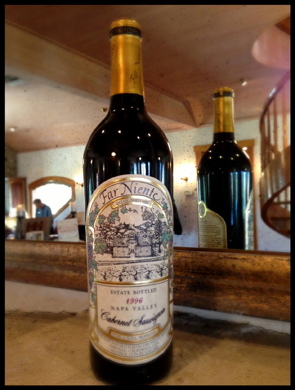 1996 Far Niente Cave Collection Cab