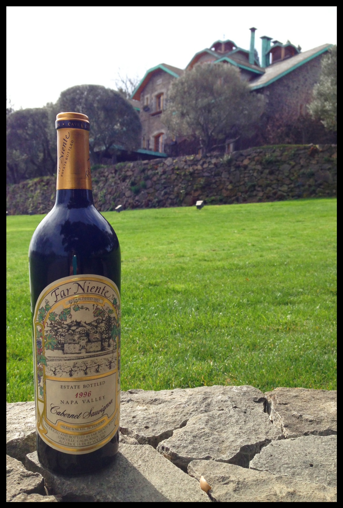 1996 Far Niente Cave Collection Cabernet
