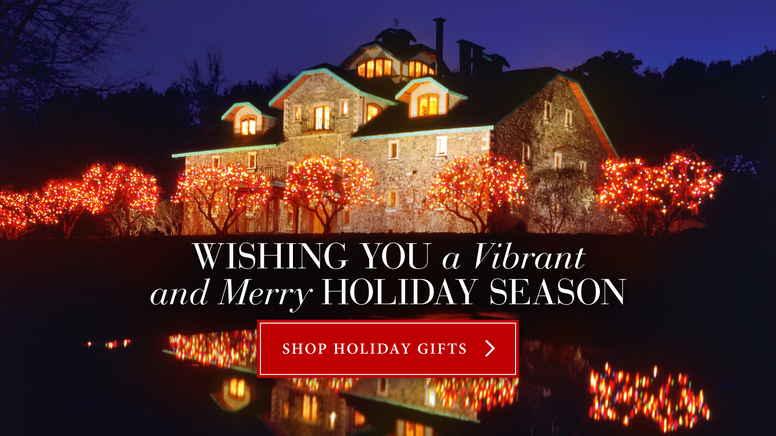 Wishing You a Vibrant and Merry Holiday Season