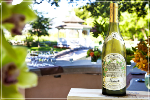 Napa Valley Chardonnay in the Far Niente Estate