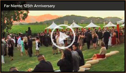 Far Niente 125th Anniversary video