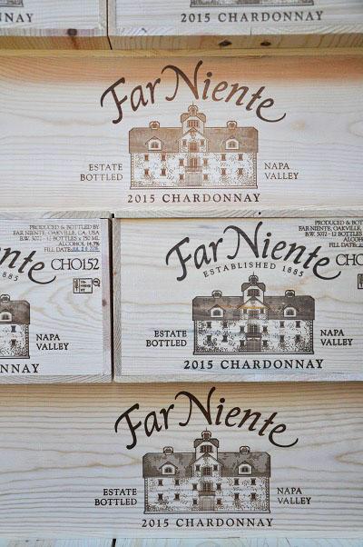Napa Valley Chardonnay by Far Niente
