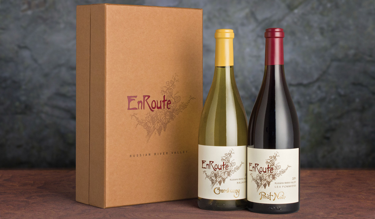 EnRoute Pinot Noir and Chardonnay Gift Set