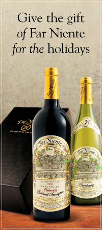 Give the gift of Far Niente for the holidays