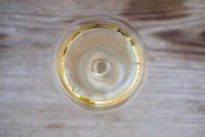 Far Niente Napa Valley Chardonnay on wood