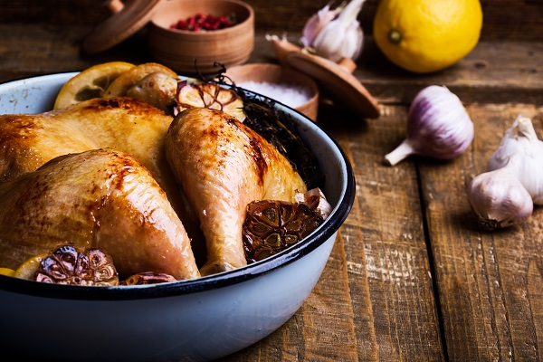 Roast Chicken and Chardonnay Menu