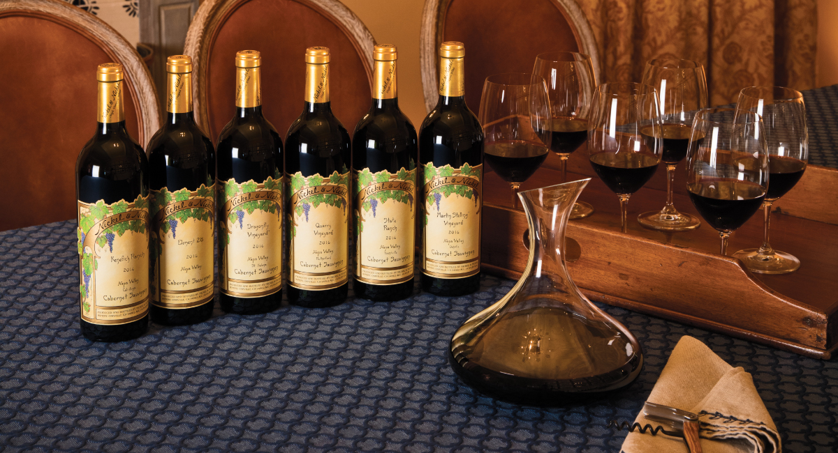 Single-Vineyard Cabernet Collection. Six-bottle gift. A Taste of Napa Valley's ...