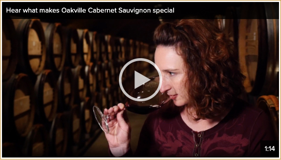 Hear what makes Oakville Cabernet Sauvignon special