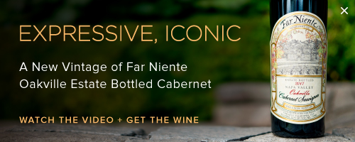 A New Vintage of Far Niente Cabernet
