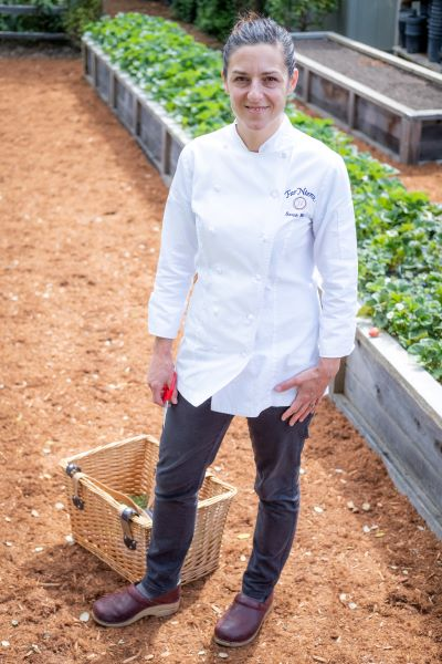 Napa Valley Chef Far Niente Sarah Walz