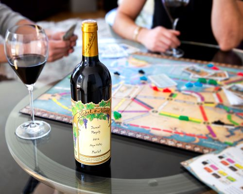 Wine and Board Games Nickel & Nickel