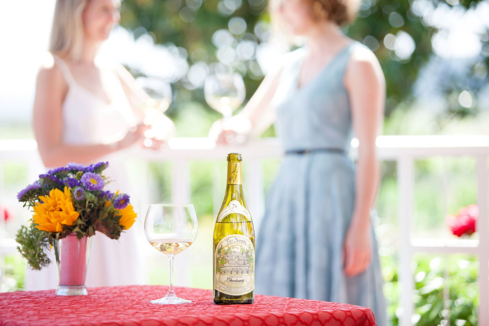 Summer wine and food pairing
